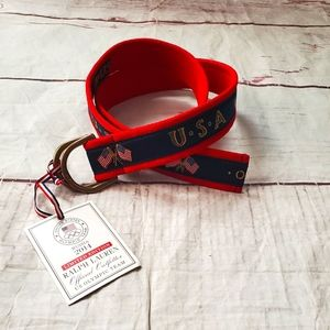 Ralph Lauren Limited Edition Olympic Team Belt